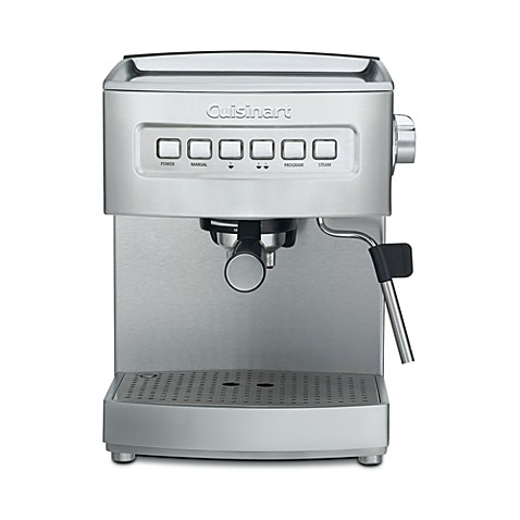 cuisinart programmable em 200 espresso machine bed bath. Black Bedroom Furniture Sets. Home Design Ideas