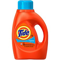 image of Tide® 50 oz. 2x Liquid Laundry Detergent in Clean Breeze