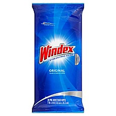 image of Windex® 28-Count Flat Pack Wipes