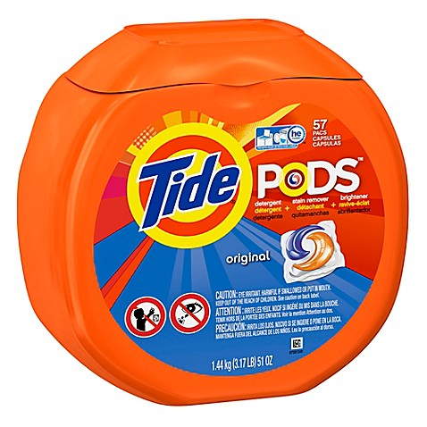 Tide 174 Pods 57 Count Laundry Detergent In Original Bed