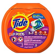 image of Tide® PODS 57-Count Laundry Detergent in Spring Meadow