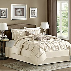 image of Madison Park Laurel 7-Piece Comforter Set