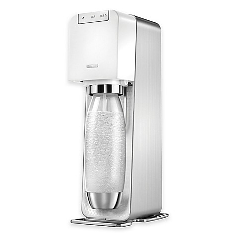 sodastream power sparkling water maker in white bed. Black Bedroom Furniture Sets. Home Design Ideas
