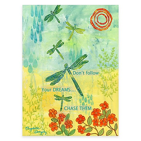 Courtside Market Dragonfly Summer Canvas Wall Art - Bed Bath & Beyond