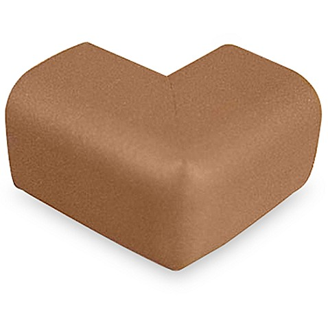 KidKusion® Soft Corner Cushions (Package of 4) in Brown