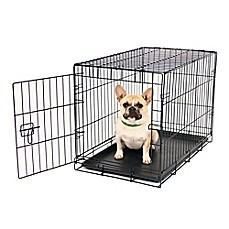 image of Carlson Secure and Compact Single-Door Dog Crate