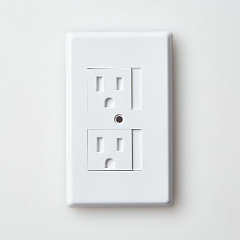 Mommy 39 S Helper Trade White Safe Plate Standard Outlet Cover