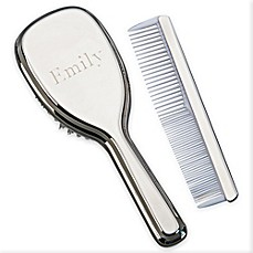 image of Classic 2-Piece Girls Brush and Comb Set