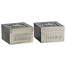image of Baby's First Curl and Tooth Boxes (Set of 2)