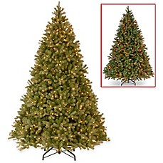 Image Of National Tree 9 Foot Downswept Douglas Fir Christmas Tree With  PowerConnect™ And