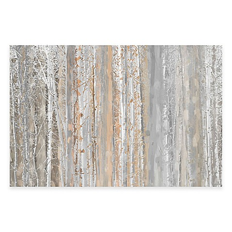 buy marmont hill aspen forest 60 inch x 40 inch canvas wall art from bed bath beyond. Black Bedroom Furniture Sets. Home Design Ideas