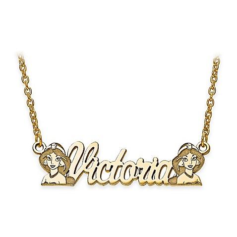 jewelry disney 14k yellow gold 18 inch chain jasmine. Black Bedroom Furniture Sets. Home Design Ideas