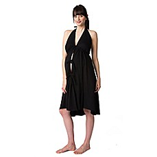 image of Pretty Pushers® Labor Gown in Black