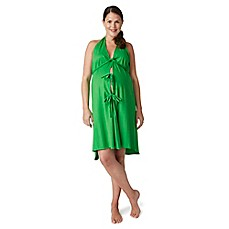 image of Pretty Pushers® Labor Gown in Clover Green