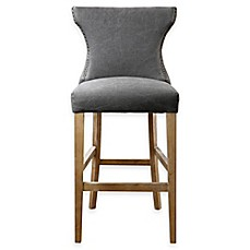 image of uttermost gamlin bar stool in grey