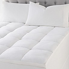Wamsutta Quilted Top Featherbed Mattress Topper In White