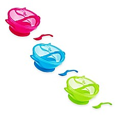 image of Nuby™ Easy Go™ Suction Bowl and Spoon Set