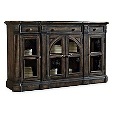 Image Of Pulaski Delmar Sideboard In Dark Brown