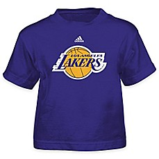 image of NBA Los Angeles Lakers Short Sleeve Shirt in Purple