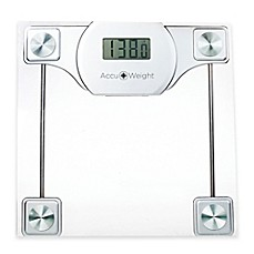 Merveilleux Image Of Accuweight Digital Glass Bathroom Scale