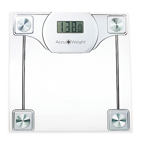Accuweight Digital Glass Bathroom Scale Bed Bath Amp Beyond