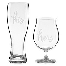 image of kate spade new york two of a kind - Glass Beer Mugs