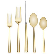 image of kate spade new york Malmo™ Gold 5-Piece Flatware Place Setting