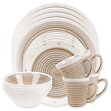 Sango Rico 16-Piece Dinnerware Set in Taupe  sc 1 st  Bed Bath u0026 Beyond & Sango | Bed Bath u0026 Beyond