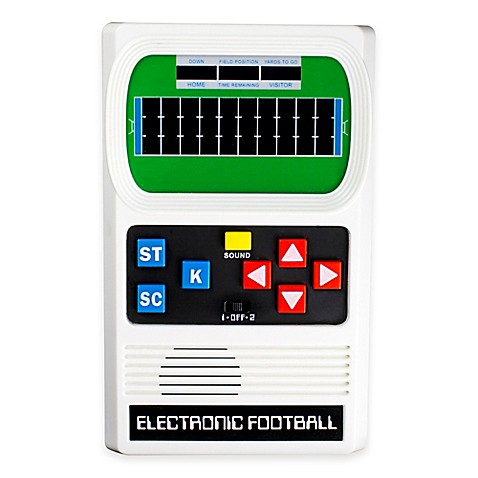 Classic Electronic Football Handheld Game Bed Bath Beyond