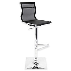 image of LumiSource Mirage Bar Stool in Black