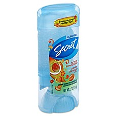 image of Secrets® Scent Expressions 2.7 oz. Clear Gel Antiperspirant and Deodorant in Truth or Pear