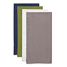 Image Of Solid Buffet Napkins Set 4