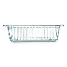 image of Pyrex® Glass 1.5 qt. Loaf Pan with Red Lid