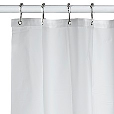 image of Soft Sensations™ Extra Long Pure EVA Shower Curtain Liner in Frost