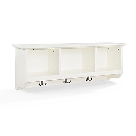 Image Of Crosley Brennan Entryway Storage Shelf Bookcase
