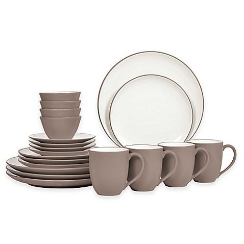 colorwave 20piece coupe dinnerware set - Noritake Colorwave