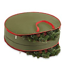 Image Of Real Simple 36 Inch Double Sided Holiday Wreath Storage Bag