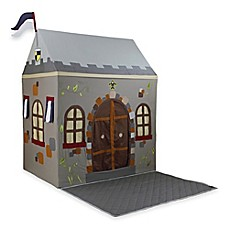 image of Dexton Toadi Castle Small Playhouse with Floor Quilt