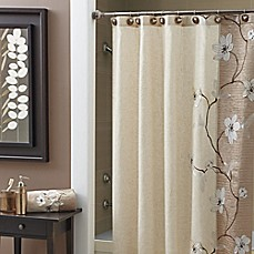 image of Croscill® Magnolia Shower Curtain
