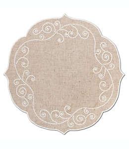 Mantel individual Lenox® French Perle, en lino