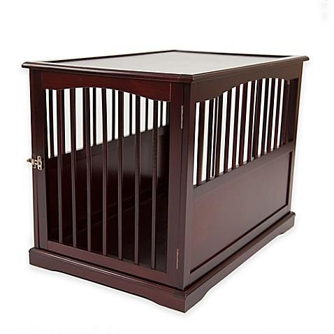 Buy Primetime Petz End Table Pet Crate in Walnut