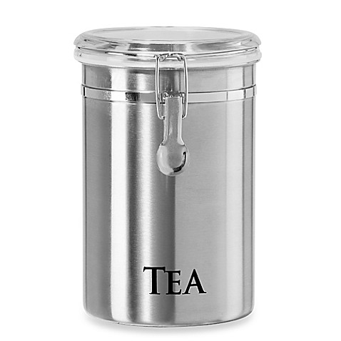 Buy Oggi 60 Oz Stainless Steel Tea Canister From Bed