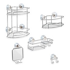 Ordinaire InterDesign® Turn N Lock Suction Shower Accessories