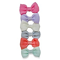 image of So'Dorable 6-Piece Mini Bow Hair Clips