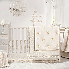 image of the peanut shell juliette crib bedding collection
