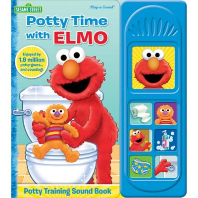Sesame Street 174 Quot Potty Time With Elmo Quot Little Sound Book