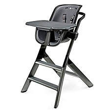 image of 4moms® High Chair in Black/Grey