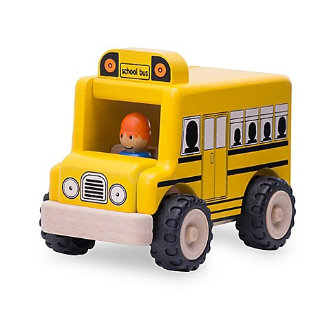 Buy Wonderworld Miniworld Mini School Bus From Bed Bath Beyond