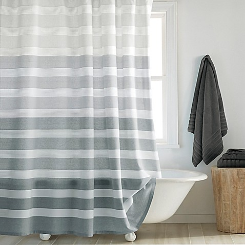 DKNY Highline Stripe Shower Curtain