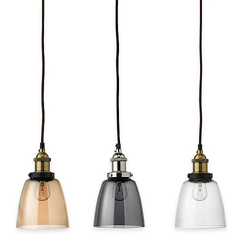 Jamie young factory dome 1 light pendant bed bath beyond for Jamie young lighting pendant
